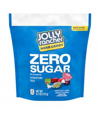 Jolly Rancher Assorted Zero Sugar Hard Candy - 6.1oz (172g) Sweets and Candy Jolly Rancher
