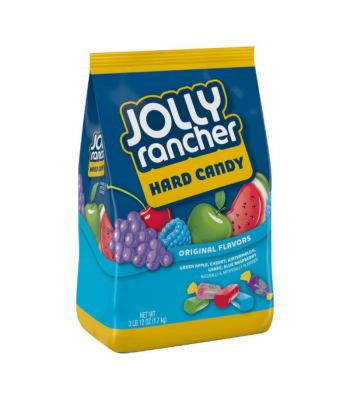 Jolly Rancher Hard Candy Original Assortment BIG BAG - 3.75lb (1.7kg) Sweets and Candy Jolly Rancher