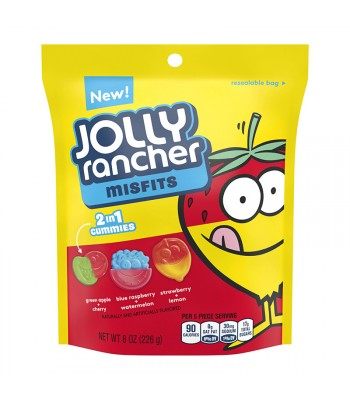 Jolly Rancher Misfits Gummy Candy 8oz (227g) Sweets and Candy Jolly Rancher