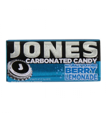 Jones Soda Carbonated Candy - Berry Lemonade 0.8oz (28g) Hard Candy Jones Soda