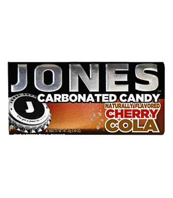 Jones Soda Carbonated Candy - Cherry Cola 0.8oz (28g) Hard Candy Jones Soda