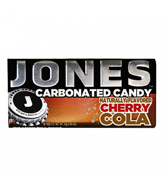 Jones Soda Carbonated Candy - Cherry Cola 0.8oz (28g)