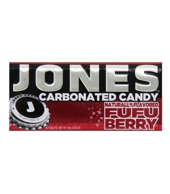 Jones Soda Carbonated Candy - Fufu Berry 0.8oz (28g) Hard Candy Jones Soda