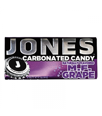 Jones Soda Carbonated Candy - Grape 0.8oz (28g) Hard Candy Jones Soda