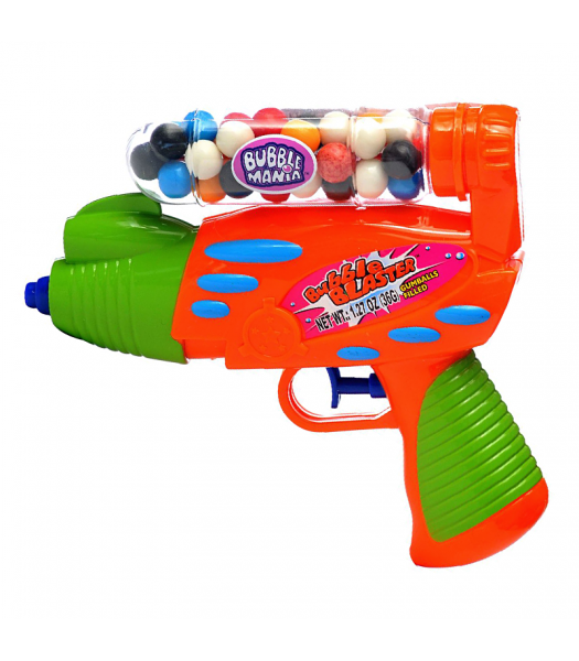 Kidsmania Candy Filled Bubble Blaster 1.27oz (36g) Sweets and Candy Kidsmania