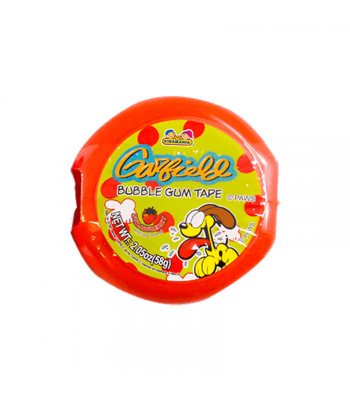 Kidsmania Garfield Bubble Gum Tape - 2.05oz (58g)