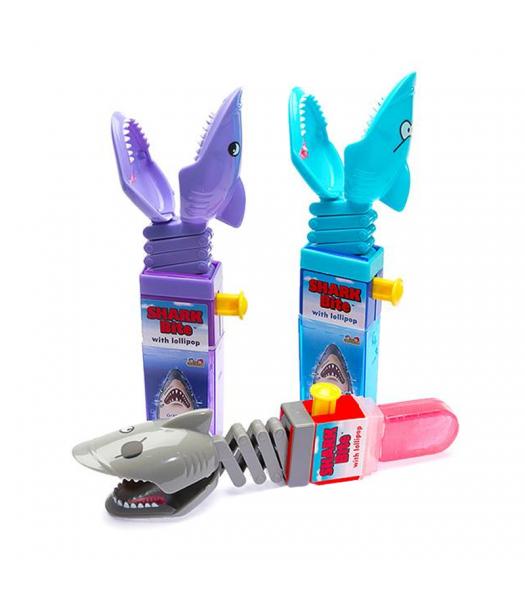 Kidsmania Shark Bite /w Lollipop - 0.6oz (17g) Sweets and Candy Kidsmania
