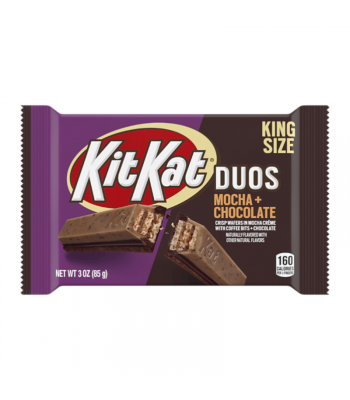 Kit Kat Duos Mocha King Size - 3oz (85g) Sweets and Candy Nestle