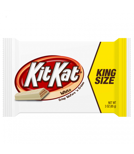 Kit Kat - White Chocolate - King Size 3oz (85g) Chocolate, Bars & Treats Kit Kat