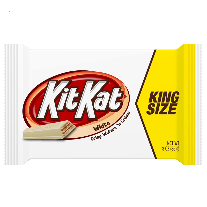 Kit Kat White Chocolate King Size 3oz 85g American