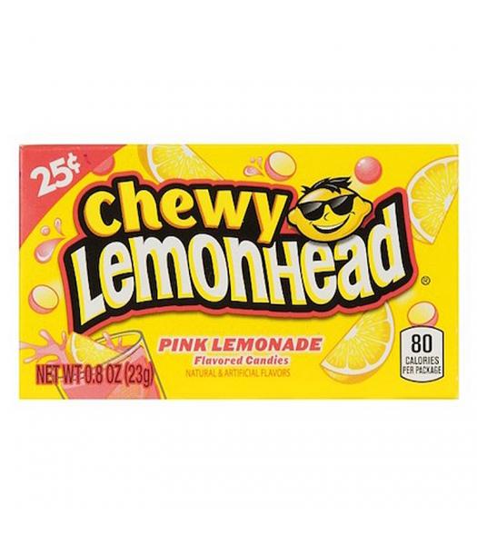 Chewy Lemonhead - Pink Lemonade - 0.8oz (23g) Soft Candy Ferrara