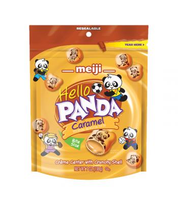 Meiji Hello Panda Caramel Pouch - 7oz (198g) Cookies and Cakes Meiji