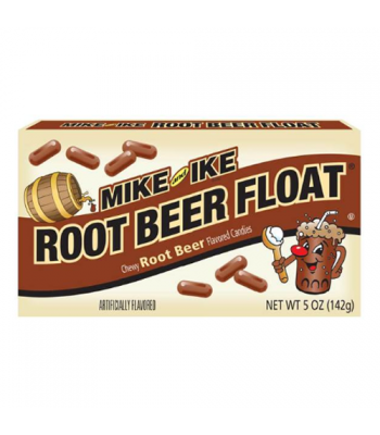 Clearance Special - Mike & Ike - Root Beer Float Candy 5oz (141g) **Damaged**
