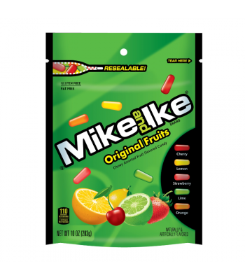 Mike & Ike Original Fruits - 10oz (283g) Sweets and Candy Mike and Ike