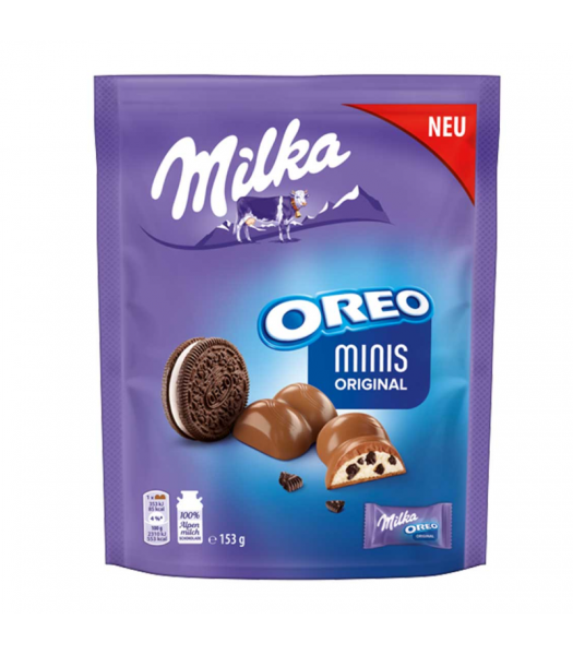 Milka Oreo Minis Original - 153g (EU) Sweets and Candy Oreo