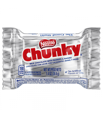Clearance Special - Nestle Chunky Bar 1.4oz (39.6g) **Best Before: January 18**