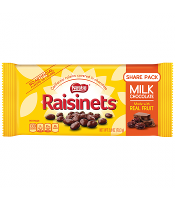 Nestle Raisinets - Chocolate Covered Raisins - 1.58oz (44.7g) Sweets and Candy Nestle