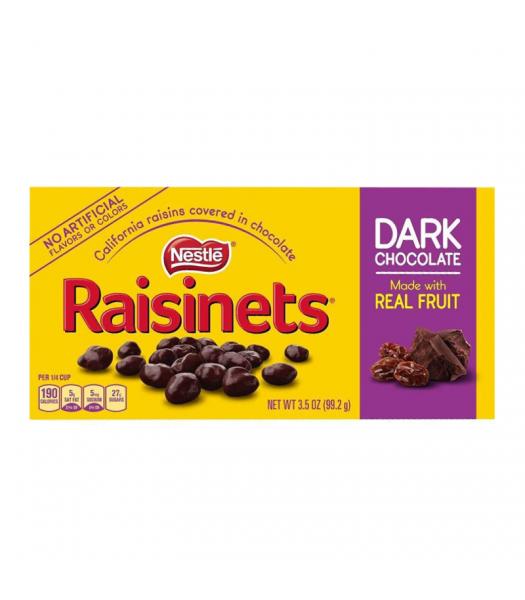 Raisinets Dark Chocolate Theatre Box 3.5oz (99.2g)