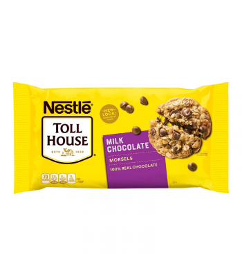 Nestle Toll House Milk Chocolate Morsels - 11.5oz (326g) Food and Groceries Nestle