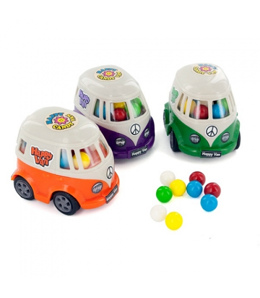 Happy Camper Van Novelty Candy 0.53oz (15g) Sweets and Candy