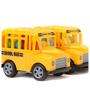 Kidsmania Candy Filled Skool Bus 0.53oz (15g) Novelty Candy Kidsmania
