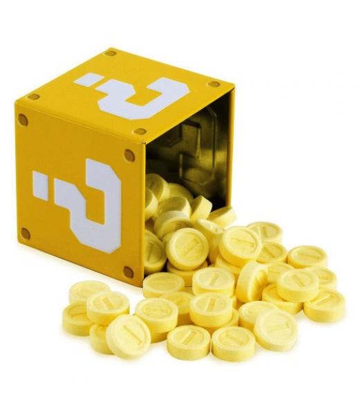 Nintendo Super Mario Coin Candies - 1.2oz (34g) Novelty Candy