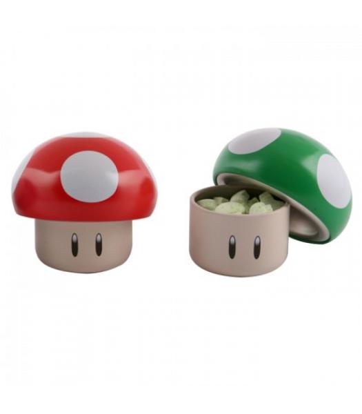 Nintendo Mushroom Sours Tin - 1oz (28g) Sweets and Candy Boston America