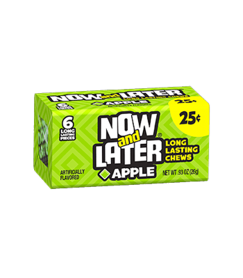 Now & Later 6 Piece CHEWY Apple Candy 0.93oz (26g)
