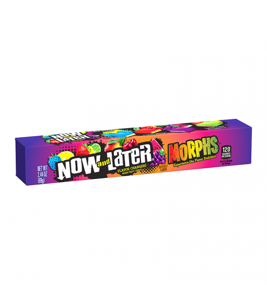 Now & Later Morphs Flavour Changing Candy - 2.44oz (69g)