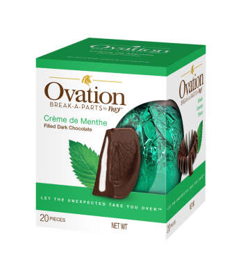Ovation Break-A-Parts Mint-Filled Dark Chocolate - 5.53oz (157g) Sweets and Candy