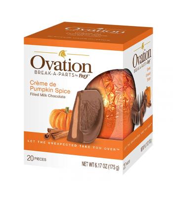 Ovation Break-A-Parts Créme de Pumpkin Spice - 6.17oz (175g) Sweets and Candy