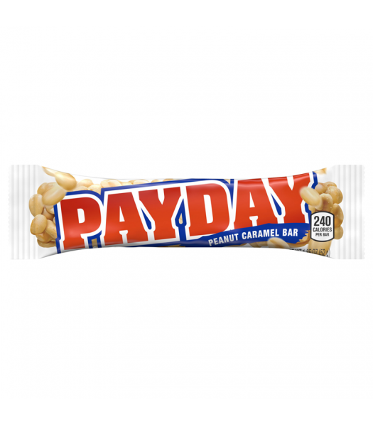 Pay Day Bar 1.85oz (52g) Sweets and Candy Hershey's