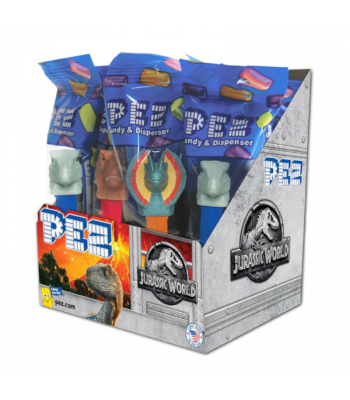PEZ Jurassic World Candy & Dispenser Poly Packs - 0.58oz (16.4g) Sweets and Candy PEZ