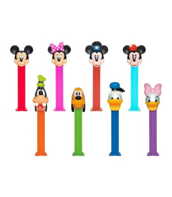 PEZ Mickey Mouse & Friends Blister Pack - 0.87oz (24.7g) Sweets and Candy PEZ