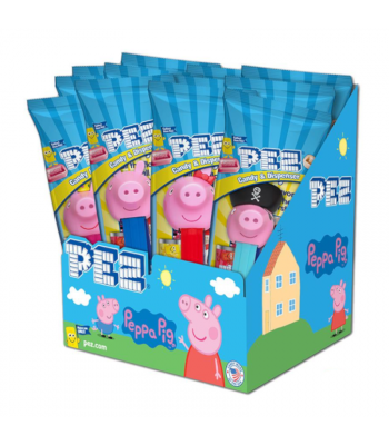 PEZ Peppa Pig Candy & Dispenser Poly Packs - 0.58oz (16.4g) Sweets and Candy PEZ