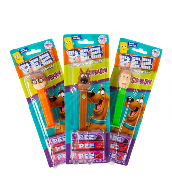 PEZ Scooby Doo Blister Pack - .87oz (24.7g) Sweets and Candy PEZ