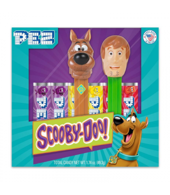PEZ Scooby Doo Gift Set - 1.74oz (49.3g) Sweets and Candy PEZ