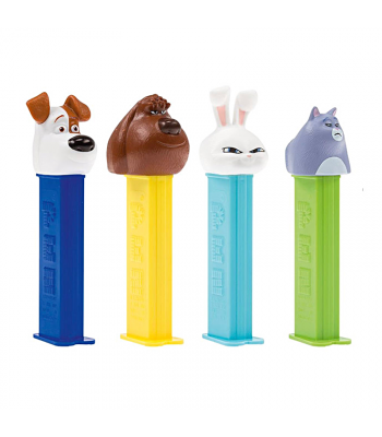 PEZ The Secret Life of Pets Dispenser + 2 PEZ Tablet Packs Sweets and Candy