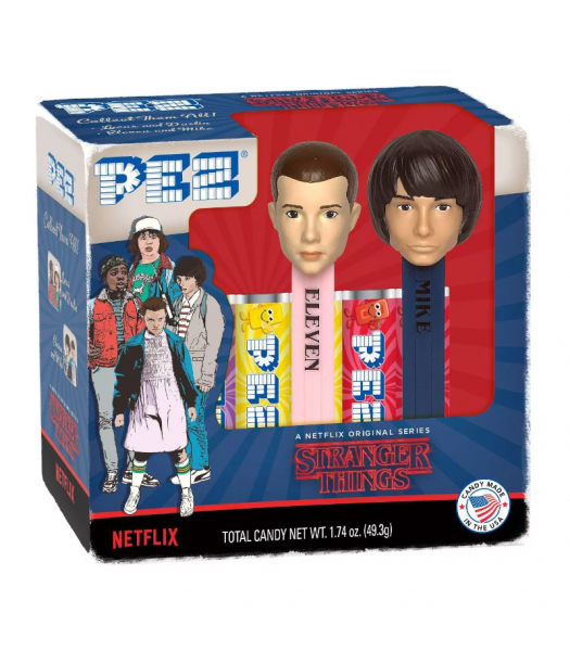 PEZ Stranger Things Gift Set - 1.74oz (49.3g) Sweets and Candy PEZ