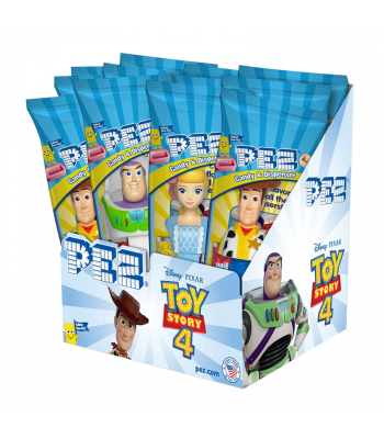 PEZ Toy Story Dispenser (Poly Pack) + 2 PEZ Tablet Packs Sweets and Candy PEZ