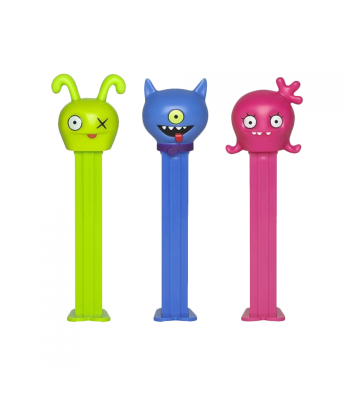 PEZ Ugly Dolls Dispenser (Poly Pack) + 2 PEZ Tablet Packs - 0.58oz (16.4g) Sweets and Candy PEZ