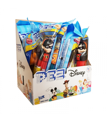 PEZ Best of Pixar Dispenser (Poly Pack) + 2 PEZ Tablet Packs - 0.58oz (16.4g) Sweets and Candy PEZ