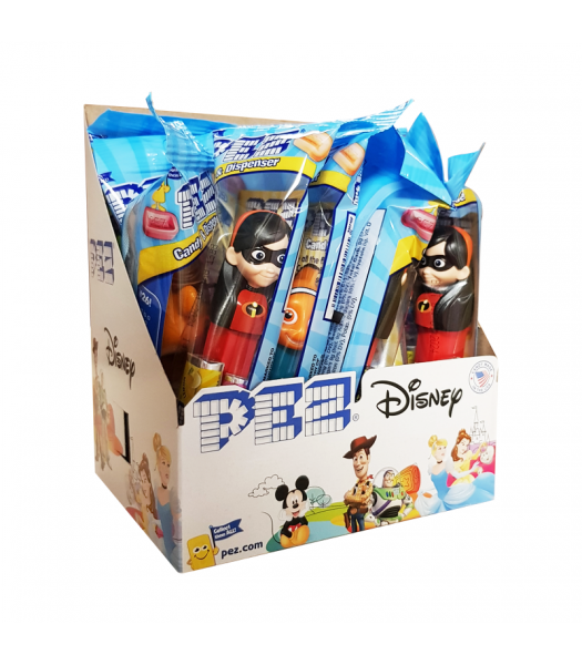 PEZ Best of Disney/Pixar Dispenser (Poly Pack) + 2 PEZ Tablet Packs - 0.58oz (16.4g) Sweets and Candy PEZ