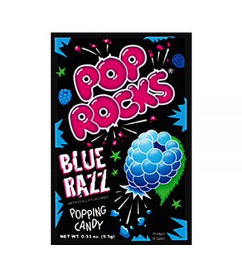 Pop Rocks Blue Razz 9.5g Hard Candy Pop Rocks