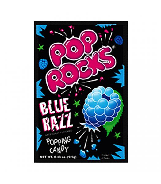 Pop Rocks Blue Razz 9.5g Hard Candy Pop Rocks