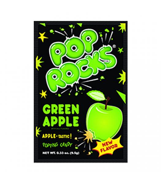 Pop Rocks Green Apple Candy 9.5g