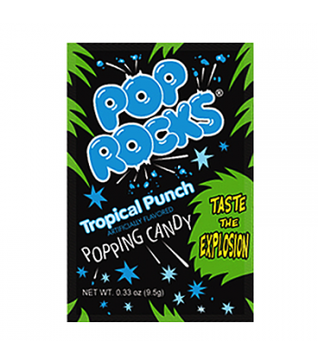 Pop Rocks Tropical Punch 9.5g Sweets and Candy Pop Rocks