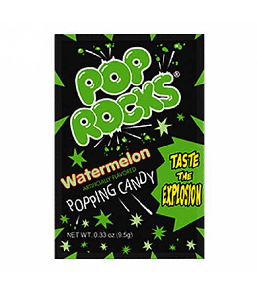 Pop Rocks Watermelon 9.5g Sweets and Candy Pop Rocks