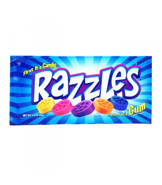 Razzles Original Pouch 1.4oz (40g) Soft Candy Razzles