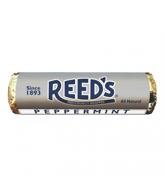 Reed's Peppermint Flavoured Hard Candy Roll 1.01oz (29g) Hard Candy